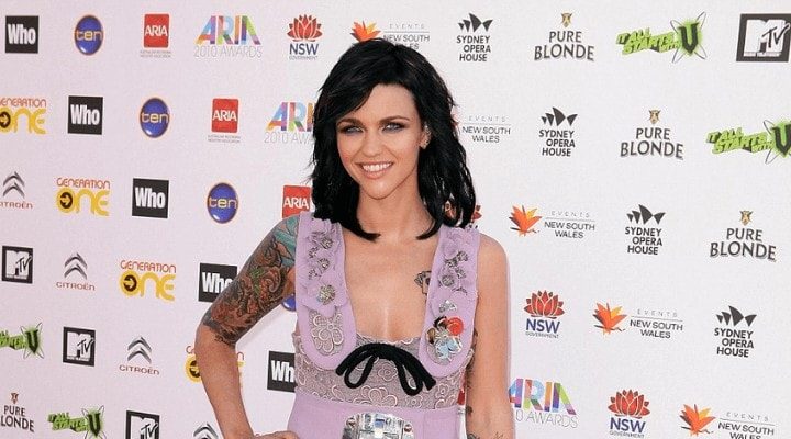 Ruby Rose With Long Hair in 2010