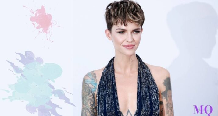 Ruby Rose With Long Hair & Short Style