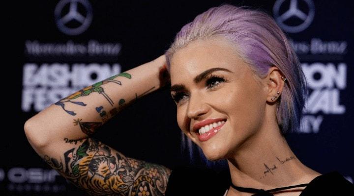 Ruby's Purple Blue Hair in 2013