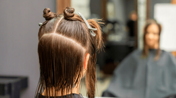 Split Your Hair into Different Parts